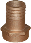 Bronze & Brass Pipe To Hose Adapters