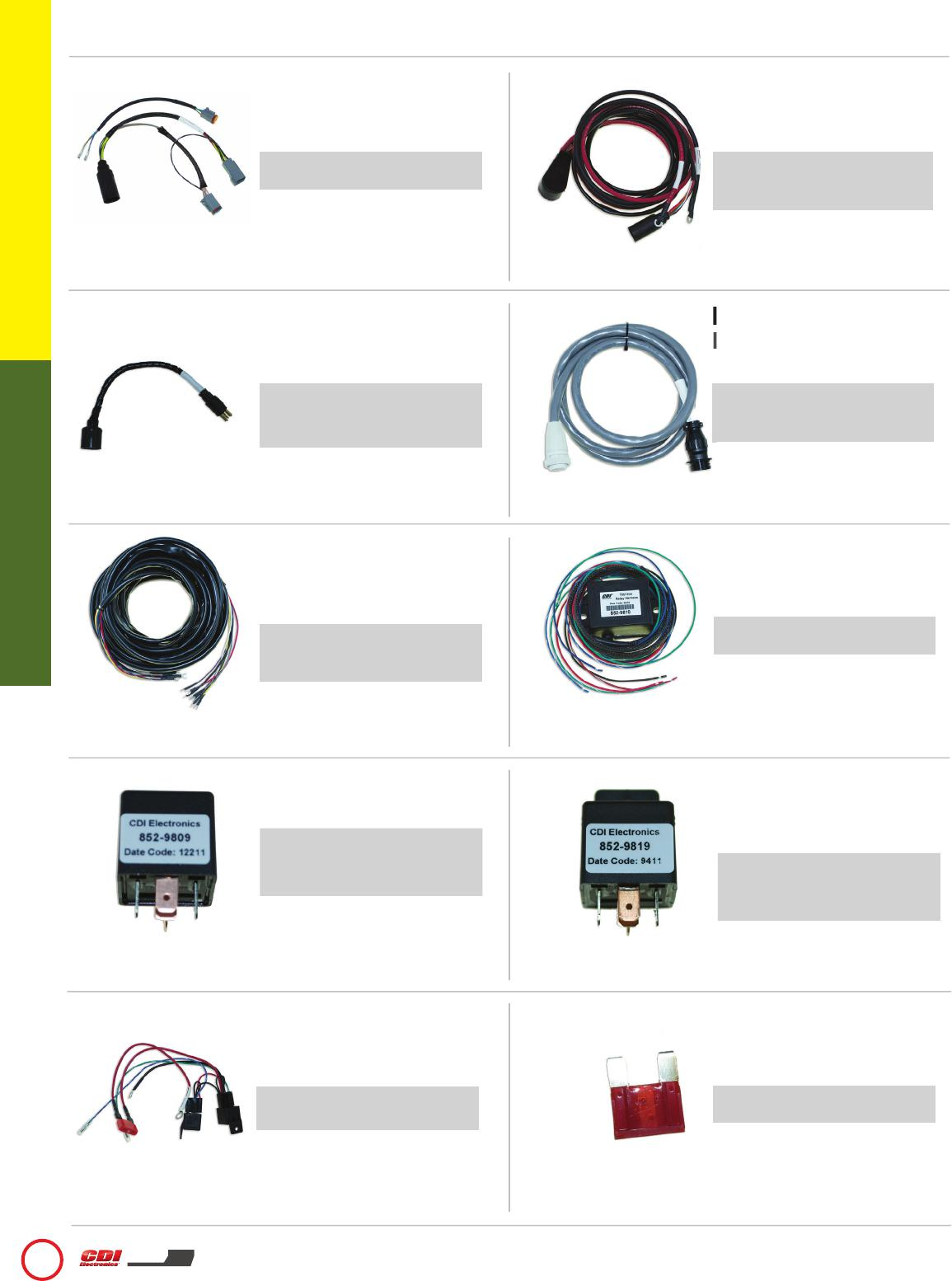 Wiring Harnesses Electrical Supplies Cdi Electronics Catalog Harness