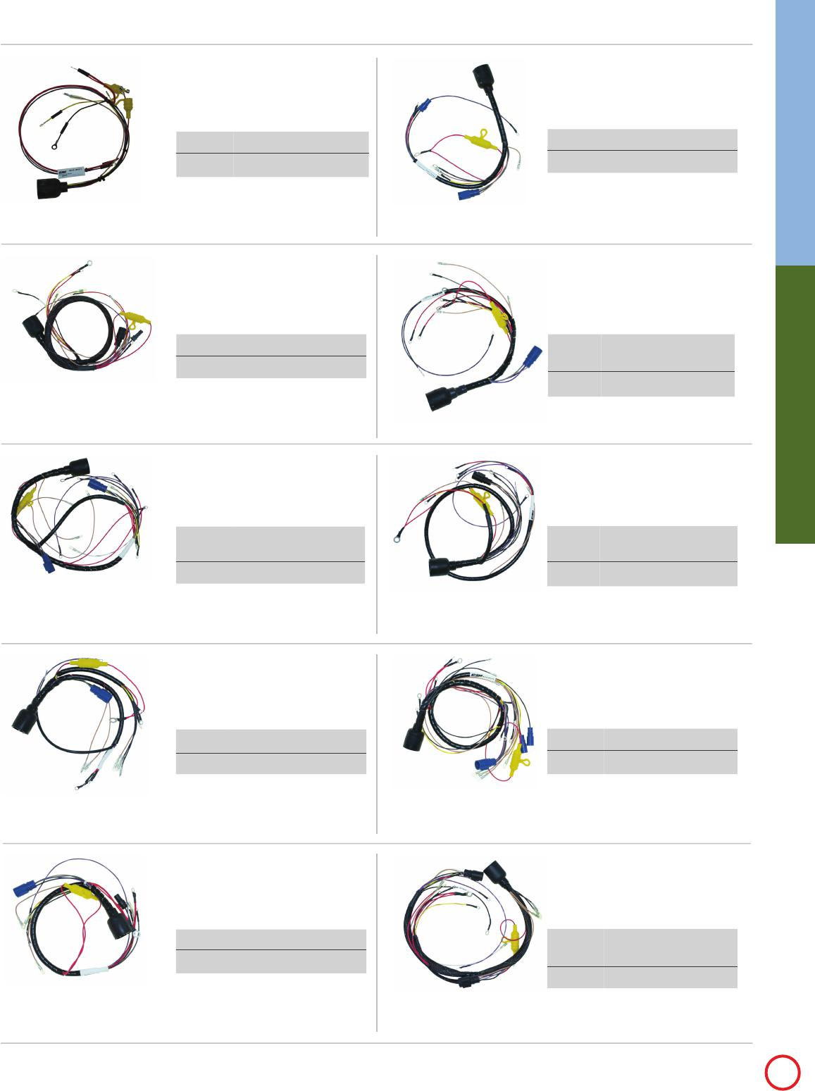 Wiring Harnesses Cont P 67 Johnson Evinrude Cdi Harness For Outboards Electronics Catalog