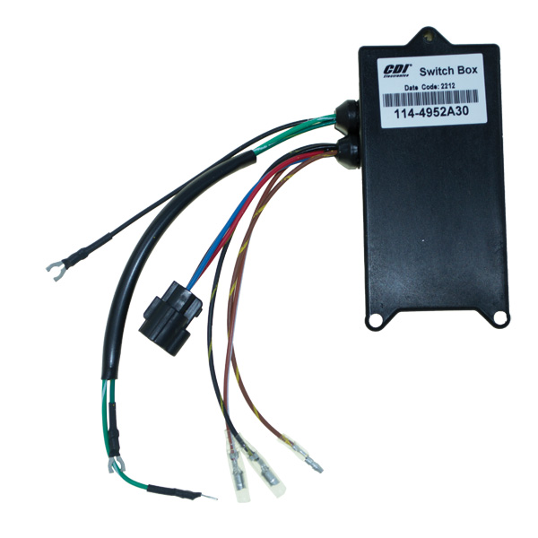 114 4952A30 mercury marine 25 hp, 25 seapro, super 15 (2 cylinder) ignition Mercury Wiring Harness Diagram at crackthecode.co