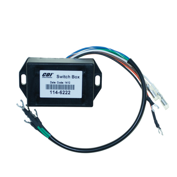 114 6222 mercury marine model 40, 4 hp (gnat 2 cylinder) switch box Mercury Wiring Harness Diagram at crackthecode.co