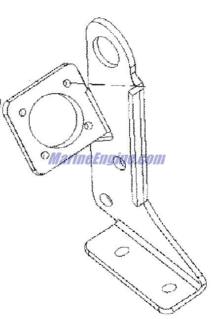 Mercruiser 4 3l Efi Gen Tbi Gm 262 V 6 Ecm Electrical Brackets